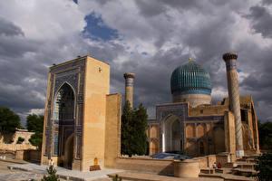 Фотографии Храмы Мечеть Uzbekistan Samarkand