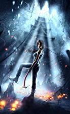 Фотография Tomb Raider 2013 Лара Крофт Девушки
