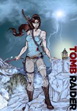 Фото Tomb Raider 2013 Лара Крофт Девушки