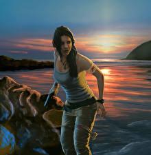 Картинка Tomb Raider Лара Крофт Девушки