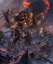 Фото Воины 3 Крик Копья Reaper of Souls Фэнтези