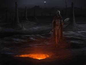 Обои Воины Иллюстрации к книгам Ночные The Last Redoubt