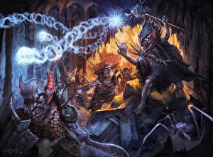 Фото Воители Волшебство Монстры