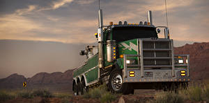 Фотография Грузовики Western Star Trucks Трансформеры: Последний мещанин 0900 SF, Onslaught Кино Автомобили