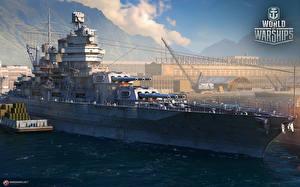 Фотографии World Of Warship Корабль Американский Battleship USS New Mexico (BB-40) Игры Армия