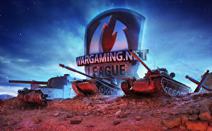 Фотографии Танки World of Tanks Российские Американские Японские Wargaming.net League Игры
