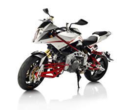 Обои Белый фон 2010-16 Bimota Tesi 3D Naked Мотоциклы