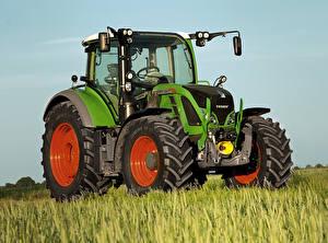 Картинки Сельскохозяйственная техника Трактор 2014-16 Fendt 720 Vario