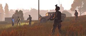 Обои ArmA Солдаты Автоматы 3 Игры 3D_Графика картинки