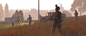 Обои ArmA Солдаты Автоматы 3 Игры 3D_Графика