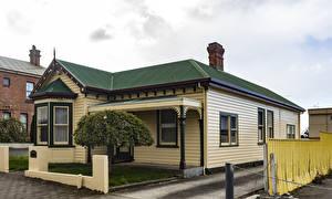 Картинка Австралия Здания Особняк Дизайн Devonport Tasmania Города