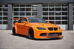 Обои BMW Оранжевый Металлик 2017 G-Power BMW M3 GT2 S Hurricane авто