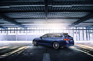 Фото BMW Синих Универсал F11 5-Series автомобиль