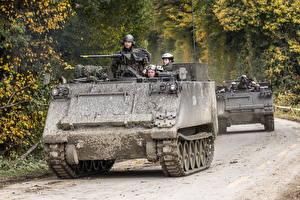 Обои БТР Американские M113 G Panzer 63 Армия