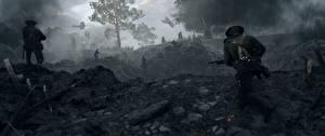 Картинки Battlefield 1 Солдаты Война Игры 3D_Графика