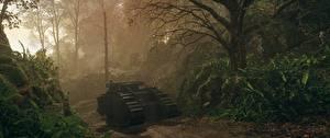 Картинки Battlefield 1 Танки Британский Деревья Mark I 3D_Графика