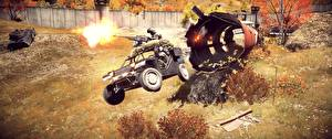 Картинки Battlefield 4 Пулеметы Выстрел Игры 3D_Графика
