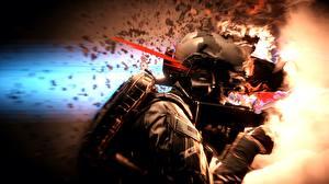 Фотография Battlefield 4 Солдаты Американские Игры 3D_Графика