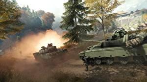 Картинки Battlefield 4 Танки Китайские Игры 3D_Графика