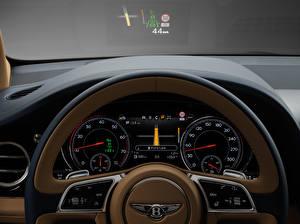 Картинка Bentley Салоны Рулевое колесо Bentayga Машины