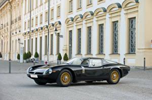 Фотографии Биззарини Винтаж Черный Металлик 1966-67 5300 GT Strada Bertone Авто