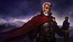 Картинки Diablo III Воины Броня Lachdanan Фэнтези