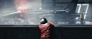 Фотография Истребители Авианосец Battlefield 3 Американские Игры 3D_Графика