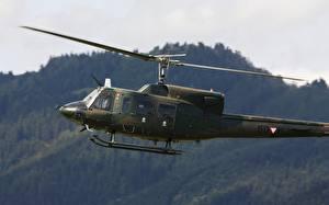 Картинка Вертолеты Американские Agusta-Bell, AB-212 Авиация