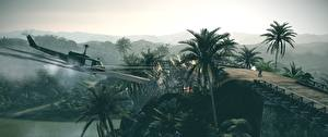 Фотография Вертолеты Battlefield: Bad Company Стрельба 2 3D_Графика