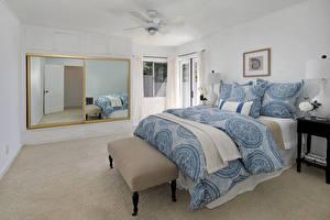 Картинки Интерьер Дизайн Спальня Кровать Подушка