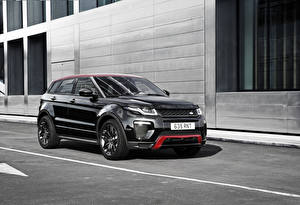 Фото Range Rover Черный Evoque Авто