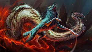 Фотографии Волшебные животные Сверхъестественные существа