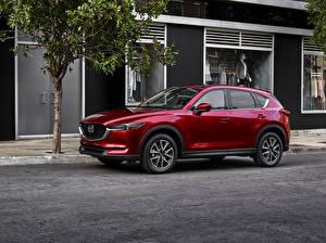 Фотография Mazda Красная Металлик 2017 CX-5 авто