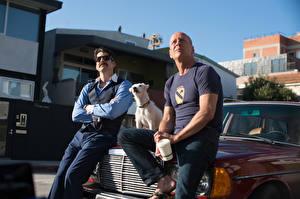Обои для рабочего стола Его собачье дело Мужчины Bruce Willis кино