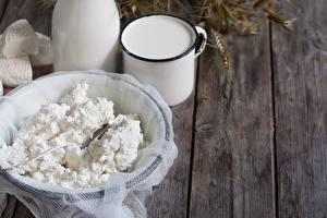 Фотографии Творог Молоко