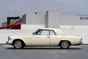 Обои Винтаж Сбоку 1962 Studebaker Gran Turismo Hawk Авто