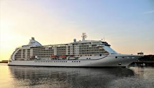 Картинка Корабли Море Круизный лайнер Ferry