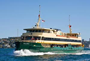 Картинка Корабли Волны Ferry Collaroy
