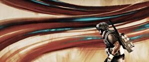 Обои Солдаты Battlefield 3 Американские Игры 3D_Графика