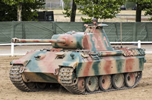Картинки Танки Немецкий Pz.Kpfw. V Panther Ausf. A Армия