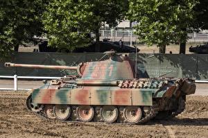 Фотографии Танки Немецкий Pz.Kpfw. V Panther Ausf. A