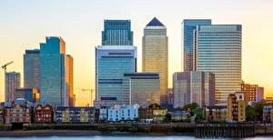 Фотографии Великобритания Англия Здания Лондон Улица Города