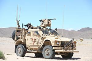 Картинка Боевая техника Пулеметы Солдаты 2016-17 Oshkosh M-ATV SXF Армия