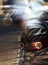 Фото Wolfenstein Солдаты Немецкий Old Blood Игры 3D_Графика