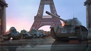 Фотографии WOT Танки Эйфелева башня French