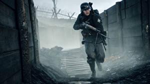 Картинки Battlefield 1 Солдаты Винтовки Игры
