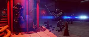 Фотография Battlefield 4 Солдаты Автоматы Американские 3D_Графика Игры