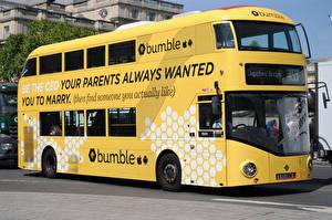 Картинки Автобус Желтый