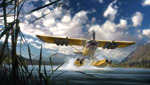 Фотографии Far Cry 5 Гидроплан Взлет Игры