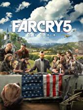 Фотография Far Cry Мужчины Стол Флаг 5 Игры